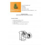 Suport pentru aparat de ras electric  Ridder cu ventuza  cod  38102 (12104100)