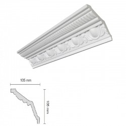 Baghete Decorative Polistiren G38 Decosa (105x105mm) x 18buc cod 13103