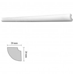 Baghete decorative Decosa- H15 (20x20mm)x180buc cod 13037