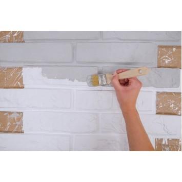 Panouri decorative albe din polistiren Decosa Sierra (imitatie piatra) 50 cm x 20 cm, bax 8 pachete x 1m² cod 13114