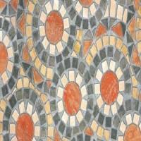 Autocolant d-c-fix imitatie pietre flori in cercuri Opaco Pianetra 45cmx2m cod 346-0519