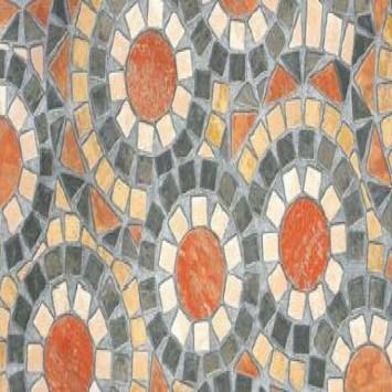 Autocolant d-c-fix Imitatie pietre flori in cercuri 45cmx15m cod 200-3126