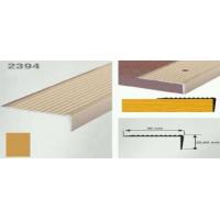 Profil cu rizuri pentru trepte auriu (gold)  2394 (22.5x40mm) x100cm- 10 buc cod 42017