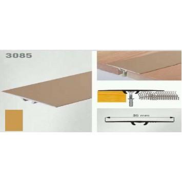 Trecere la nivel, auriu (gold) 3085 (35 mm) x90cm- 10 buc  cod 42032
