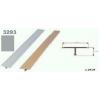 Profil T, argintiu, Cod 3293 (270cmx14 mm)- 5 buc.