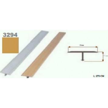 Profil T Auriu  (Gold) 3294 (270cmx20 mm)- 5 buc cod 42135