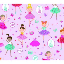 Autocolant d-c-fix camera copii balerine Celina 45cmx2m cod 346-0641