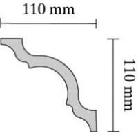 Baghete decorative Decosa- A110 (110x110mm) x36buc