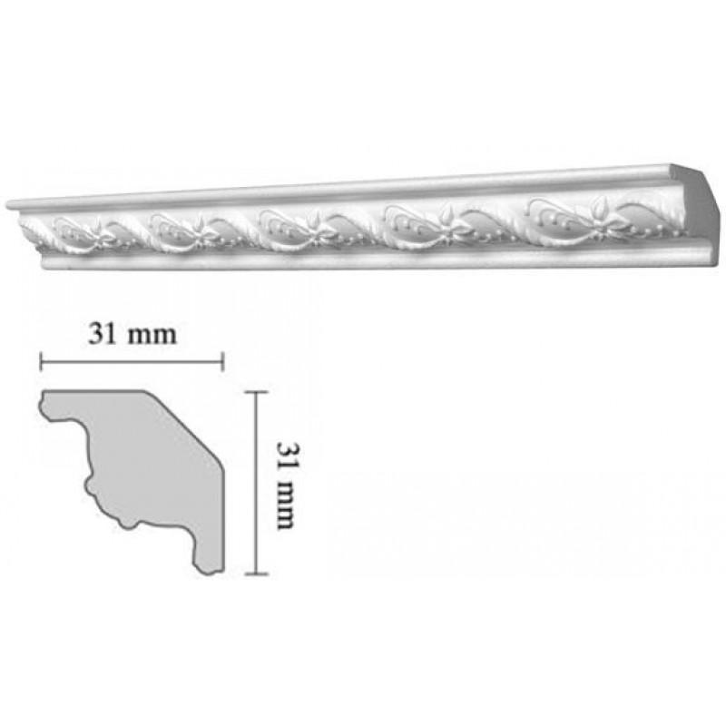 Baghete decorative Decosa- G22(31x31mm)