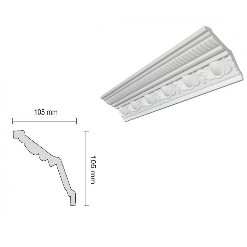 Baghete Decorative Decosa- G38 (105x105mm)x18buc cod 13103