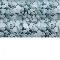 Set baie Friedola Stone antiderapant imitatie piatra din spuma PVC 2 covorase 80x48  cm + 48x80 cm cod 79603