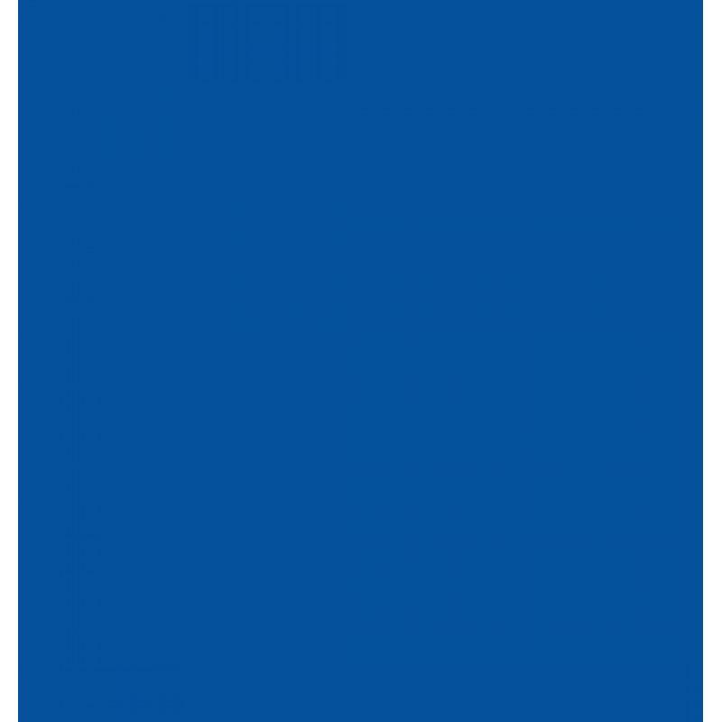Autocolant Gekkofix Uni Mat albastru 45cmx15m cod 10055