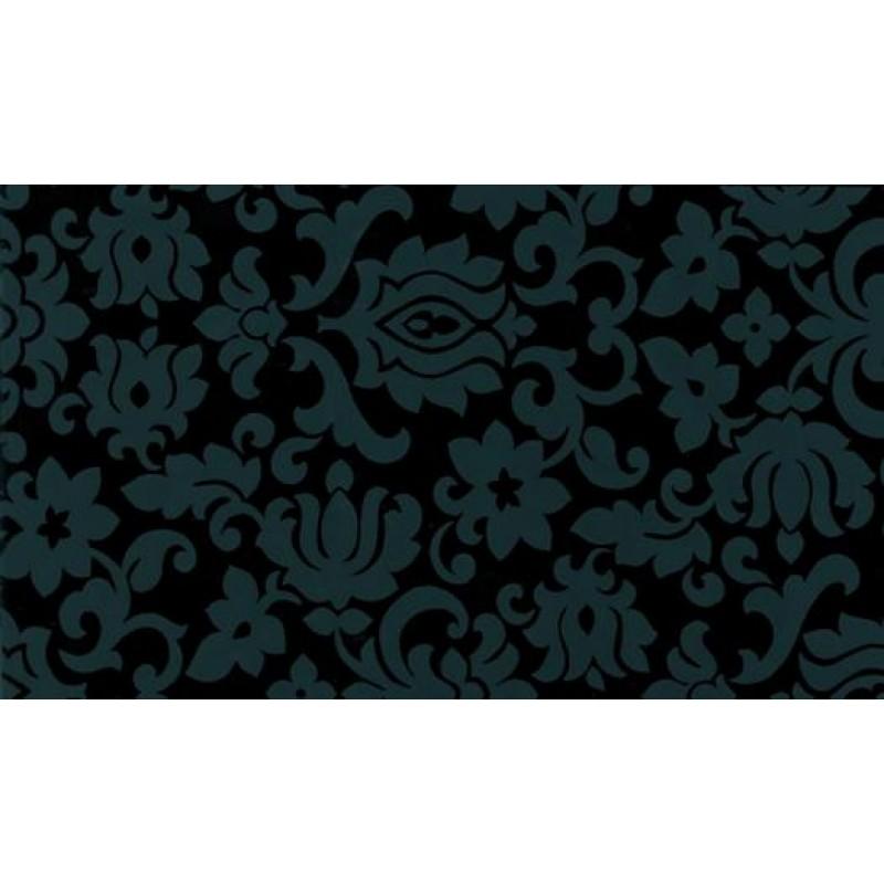 Autocolant Gekkofix Imitatie tapet clasic negru 45cm x 15m cod 10109