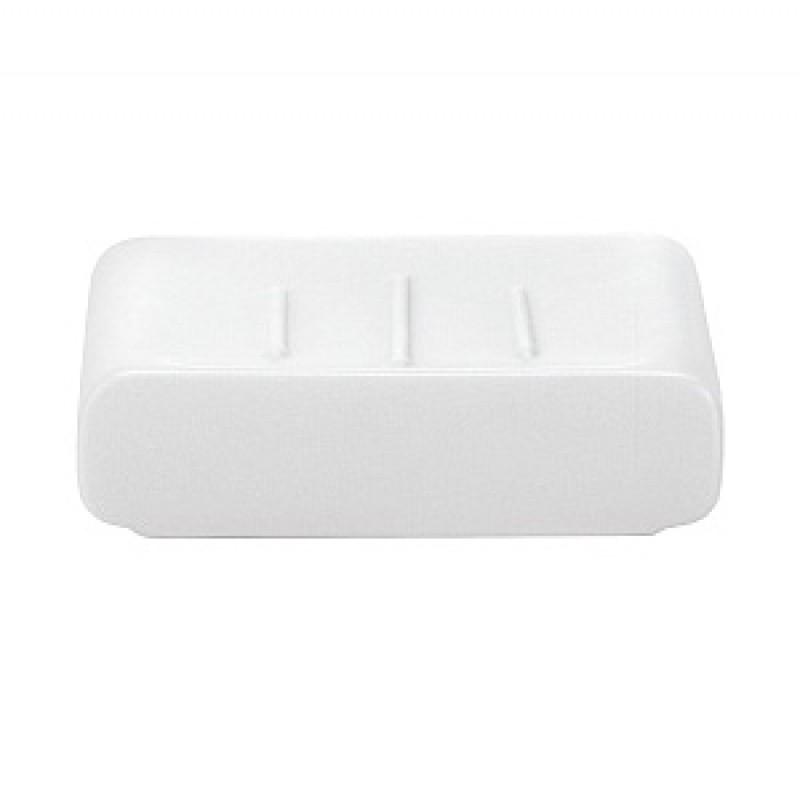 Sapuniera Kleine Wolke Cubic alb ceramica 9,1x7,4cm  cod 34058