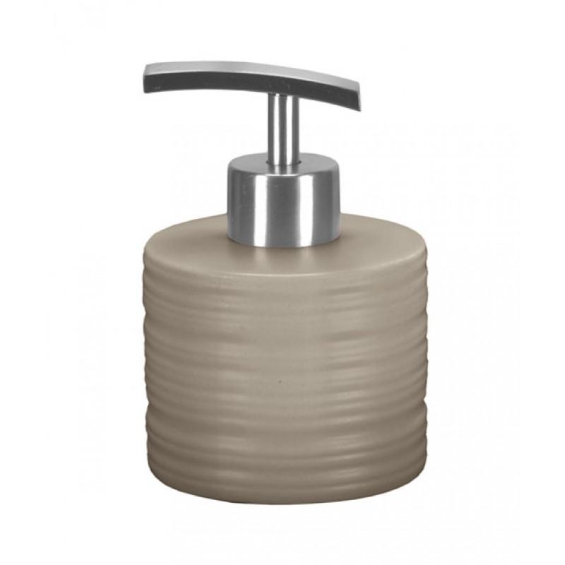 Dozator sapun lichid Kleine Wolke Sahara gri ceramica 250 ml  cod 34137
