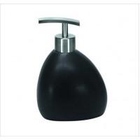 G3.5 Dozator sapun lichid Kleine Wolke Ethno negru ceramica 260 ml  cod 34079