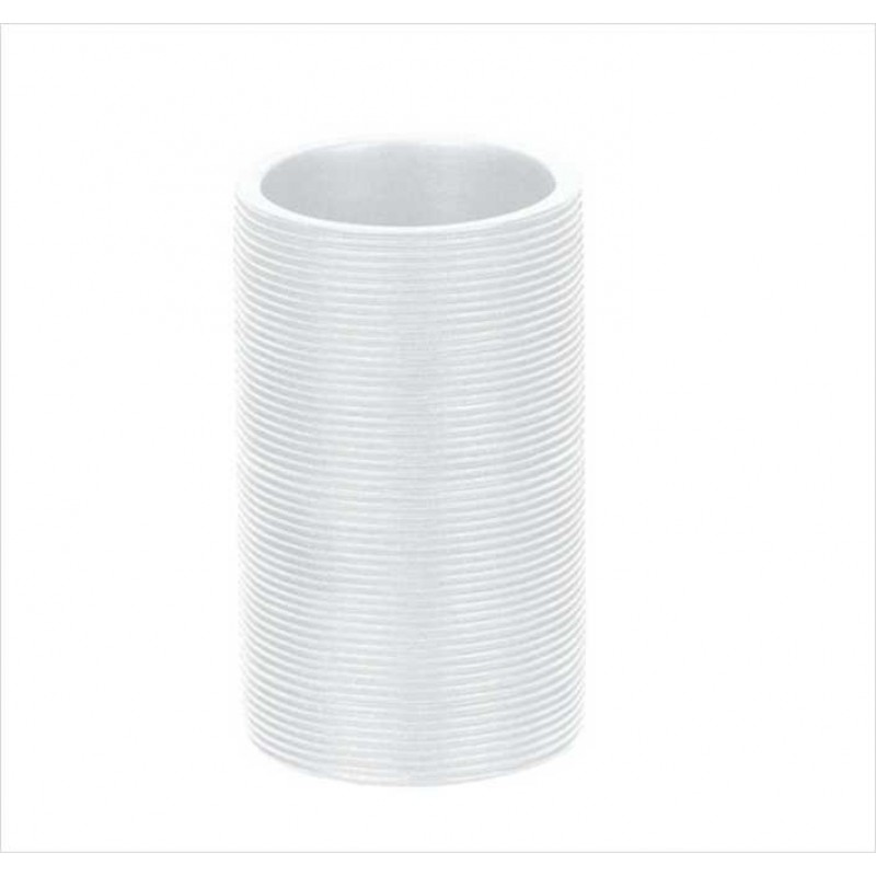 Suport periuta de dinti Kleine Wolke Kyoto alb ceramica 2.2x10.9cm cod 34081