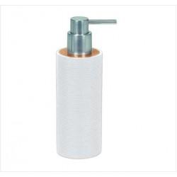 Dozator sapun lichid Kleine Wolke Kyoto alb ceramica 260ml  cod 34083