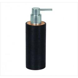 Dozator sapun lichid  Kleine Wolke Kyoto negru ceramica 260ml  cod 34087