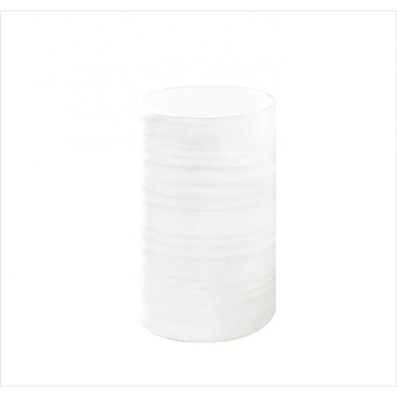 Suport pentru periuta de dinti Kleine Wolke Sahara alb ceramica 3x11cm cod 34129