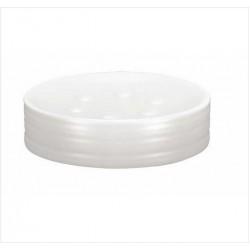 Sapuniera Kleine Wolke Sahara alb ceramica 7,6x9,5cm  cod 34130