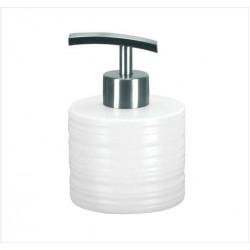 Dozator sapun lichid Kleine Wolke Sahara alb ceramica 250ml  cod 34131
