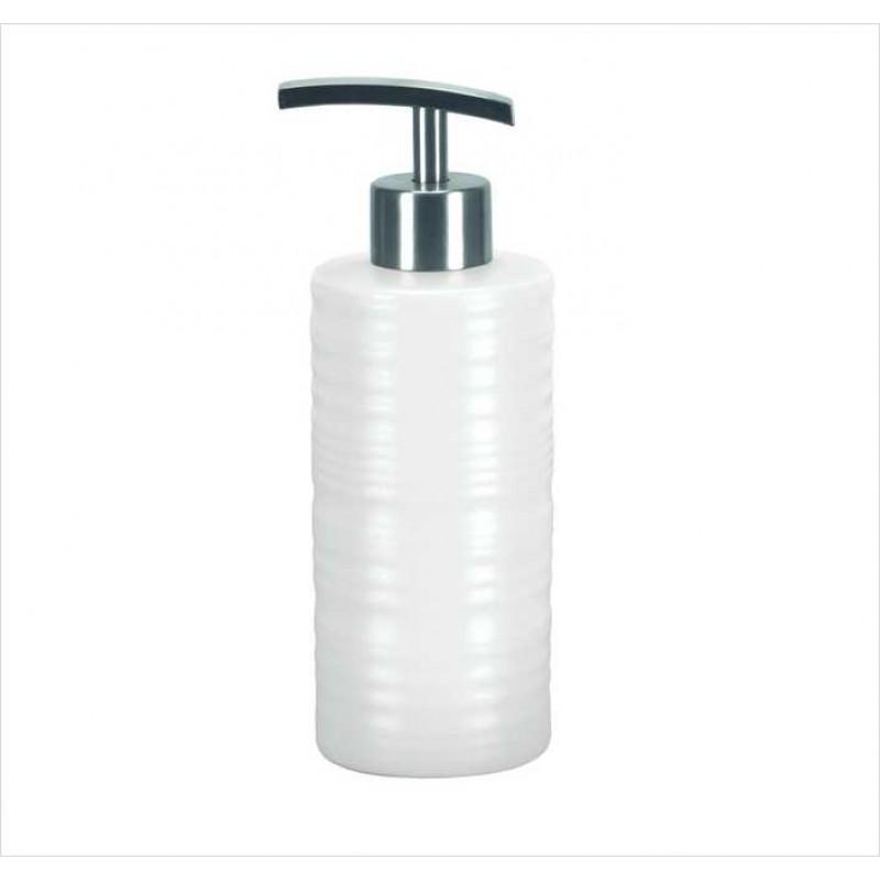 Dozator sapun lichid Kleine Wolke Sahara alb ceramica 300 ml  cod 34132