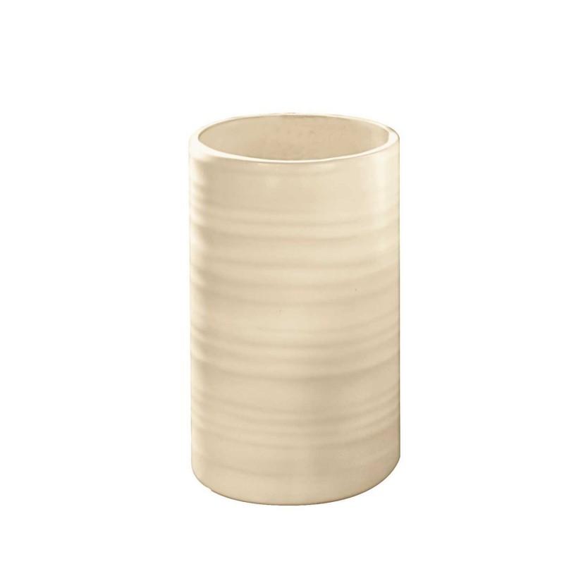 Suport pentru periute de dinti Kleine Wolke Sahara natur ceramica 3x11cm cod 34141