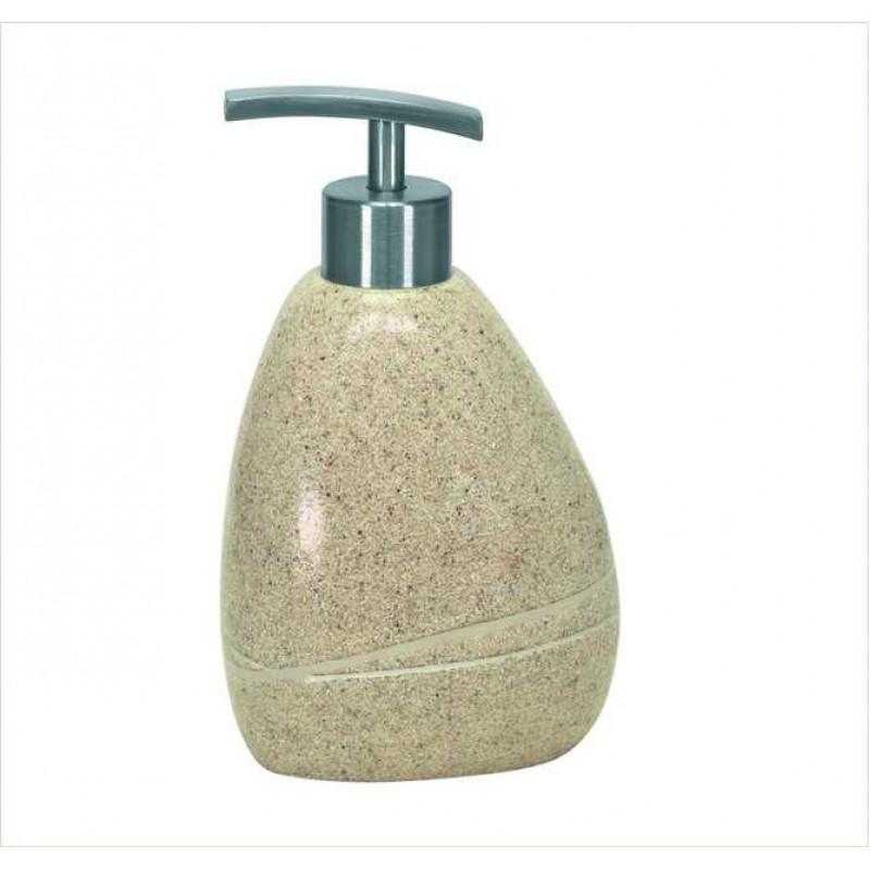 Dozator sapun lichid Kleine Wolke Stones bej ceramica 260 ml  cod 34161
