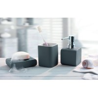 Perie WC Kleine Wolke Cubic Antracit (Gri inchis)  ceramica 11,1x38x10,8cm cod 34072