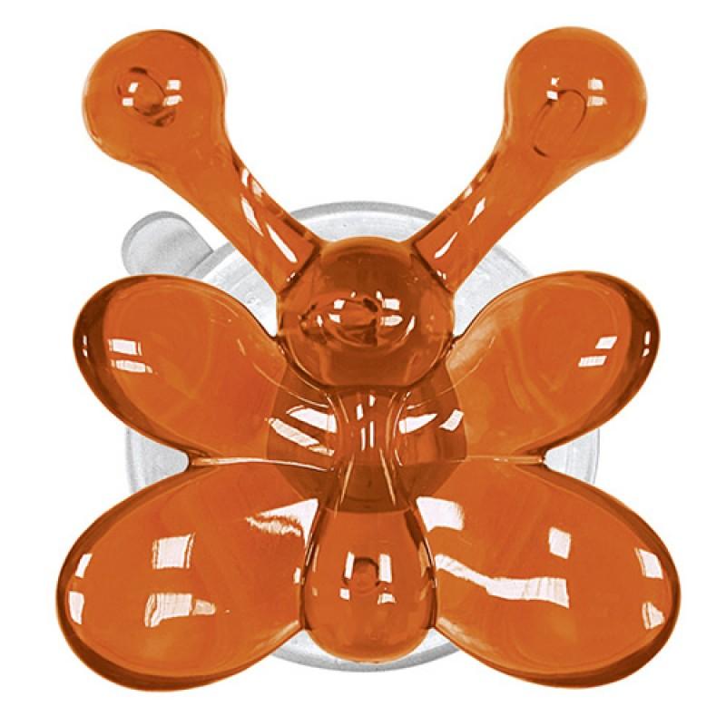 Carlig agatatoare  baie pentru copii Butterfly portocaliu cod 34001