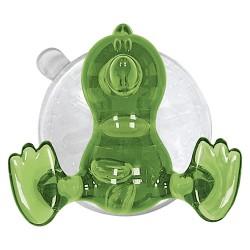 Carlig-agatatoare baie pentru copii Baby Bird verde cod 34006 (set 4 buc)