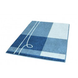 Covoras baie Kleine Wolke Tivoli  albastru  dreptunghiular 100% polyacryl  90x60cm cod 34202