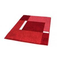 Covoras baie Kleine Wolke Dakota rosu dreptunghiular 100% polyacryl 60x90cm cod 34192