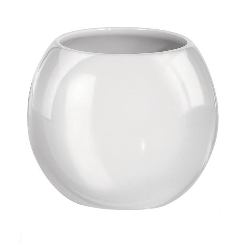 Suport pentru periute de dinti Kleine Wolke Power alb ceramica 3.1x12.3cm cod 34090