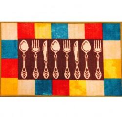 Covoras bucatarie Davo Pro Dish nylon multicolor dreptunghiular 50x80cm cod 33013