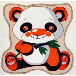 Covoras camera copii Davo Pro Panda  nylon shape  multicolor 65x65cm cod 33018