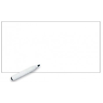 Autocolant d-c-fix Tabla scolara alba 60cmx1.2m cu marker inclus cod 213-8007