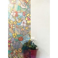 Autocolant d-c-fix vitraliu Gradina Venetiana 45cmx2m cod 346-0431