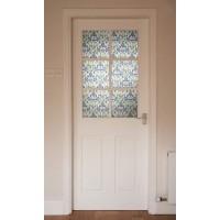 Autocolant d-c-fix vitraliu Flori de Iris Minster 45cmx2m cod 346-0616