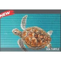 Covoras baie Friedola Sea Turtle  antiderapant model marin dreptunghiular din spuma PVC 48x80cm cod 77720.4