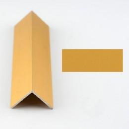 Coltar protectie trepte auriu  (gold) 2020 (20x20mm) x100cm- 10 buc cod 42004