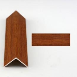 Coltar protectie trepte nuc (walnut) 2020 (20x20mm)x300cm. Lichidare de stoc 2 bucati cod 42084