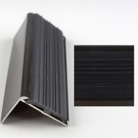 Profil cu cauciuc antiderapant bronz 2120 (30x42mm) x300cm- 5 buc  cod 42006