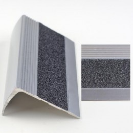 Profil pentru treapta argintiu (silver) 2853 (23x53mm) x100cm- 10 buc  cod 42168