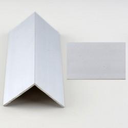 Profil aluminiu coltar treapta argintiu (silver)  3030 (30x30mm) x100cm- 5 buc cod 42156