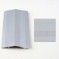 Trecere cu diferenta de nivel, Argintiu (Silver) 381L(10x45mmx270cm). Lichidare de stoc cod 7484
