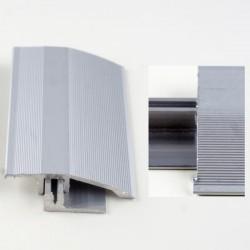Profil aluminiu cu trecere cu diferenta de nivel Argintiu (Silver) 386L (latime 44mmx90cm)- 5 buc cod 42070