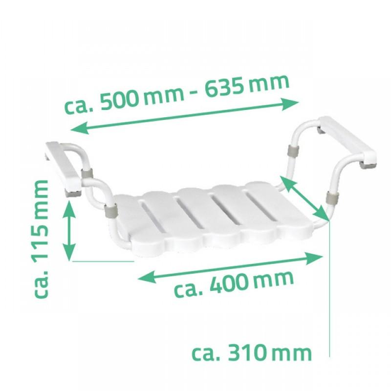 Scaun auxiliar ajustabil pentru cada Ridder (sustine max 150 kg) A00400101 cod 38004