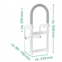 Suport ajutator pentru acces in cada Ridder  A00300101 (maxim 100 kg) 38114